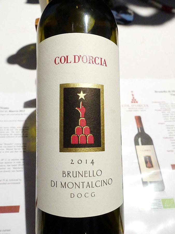 Col d'Orcia Brunello di Montalcino 2014 (91 pts)