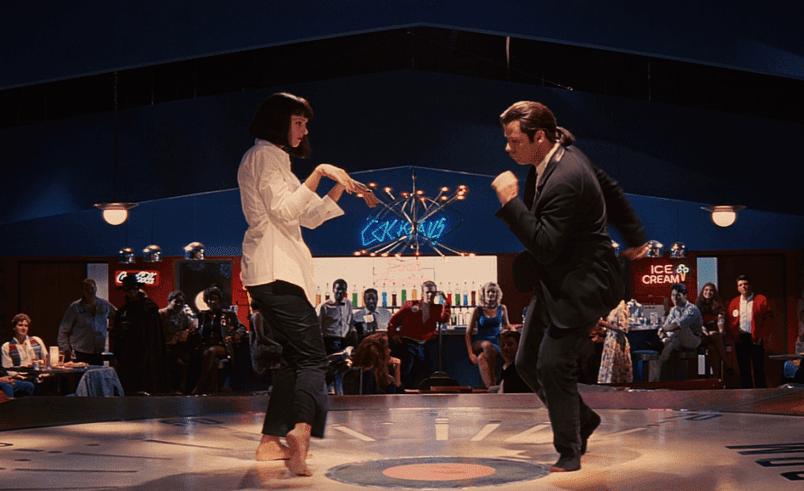 A famosa dança
