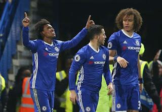 Download Video: Chelsea 4 – 2 Stoke City [Premier League] Highlights 2016/17