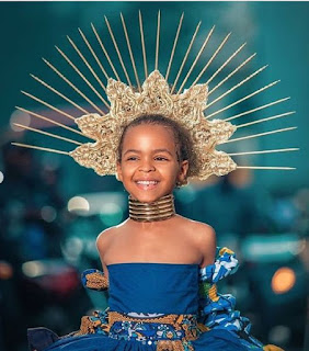 Meet Miss June Alaare Wisse - The Most Beautiful Child Model In Nigeria As She Turns A Year Older
