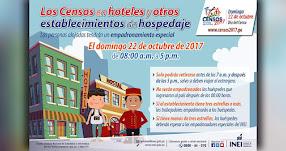 CENSOS 2017: Personas alojadas en hoteles tendrán empadronamiento especial - INEI - www.inei.gob.pe