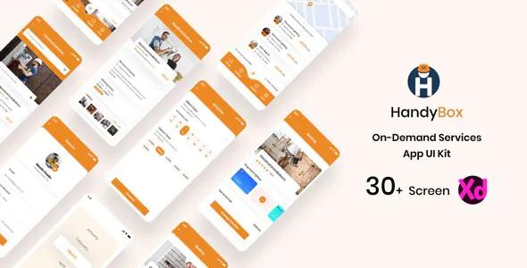 Best On Demand Handyman Service App UI Kit