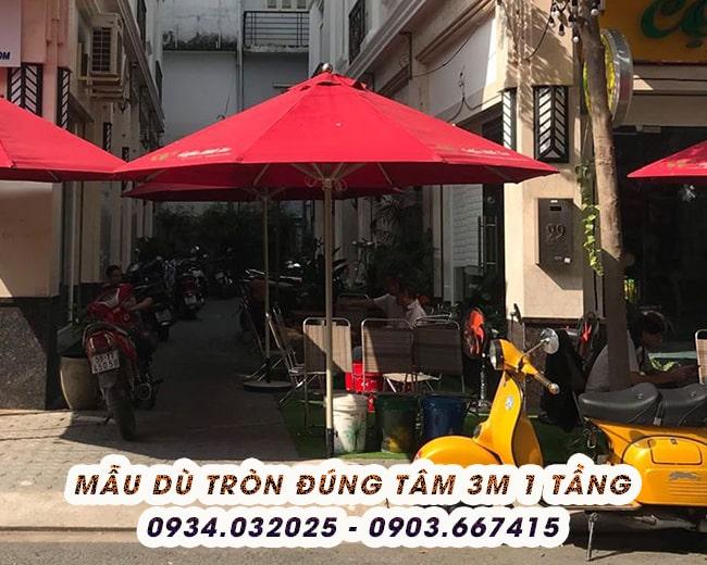 Bán Dù Che Nắng Quán Cafe Long An Giá Rẻ