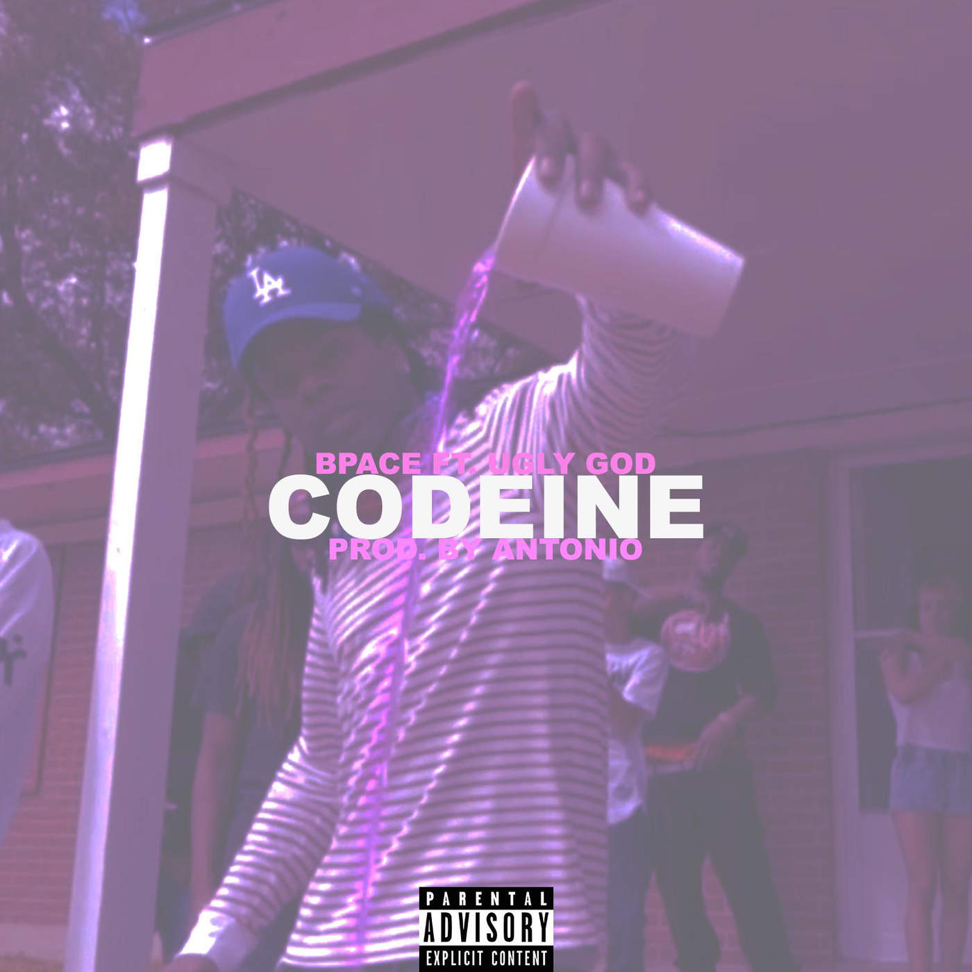 Bpace - Codeine (feat. Ugly God) - Single Cover