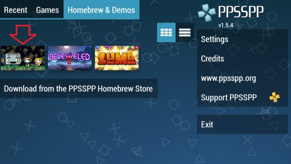 تشغيل العاب  بلاي ستيشن PSP على اندرويد