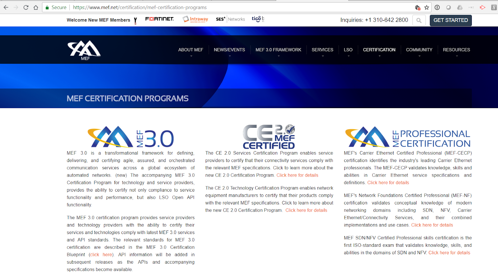 Mef offers sdnnfv professional certification converge network digest this is the first certification of its kind in the exploding field of virtualized networking said rick bauer certification director at mef malvernweather Choice Image