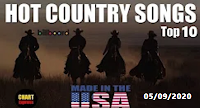 🐮 Billboard Top 10 Hot COUNTRY Songs (USA)   August 5, 2020 - Canal Celso Branicio no Youtube e blog Celso Branicio
