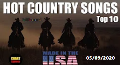 🐮 Billboard Top 10 Hot COUNTRY Songs (USA) | August 5, 2020 - Canal Celso Branicio no Youtube e blog Celso Branicio
