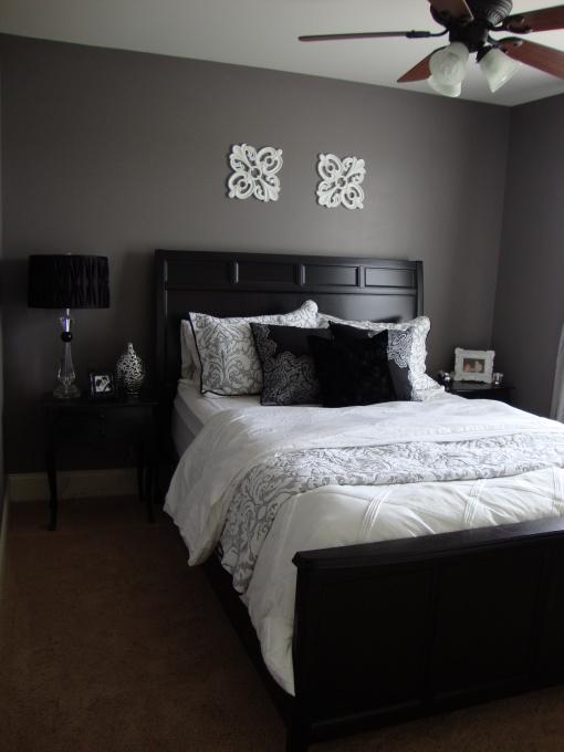 Dark Grey Bedroom Walls dark grey bedroom designs   savae