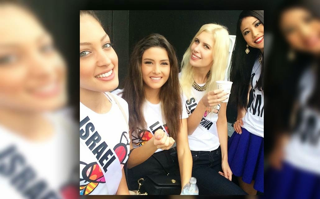 Miss Lebanon in hot water after she poses a selfie with Miss Israel