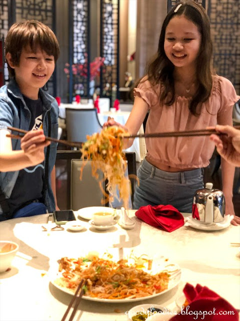 Sofitel KL CNY 2021 Lou Sang