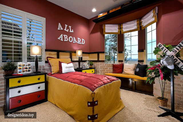 7 Kids Bedroom Designs, Neat and Comfortable