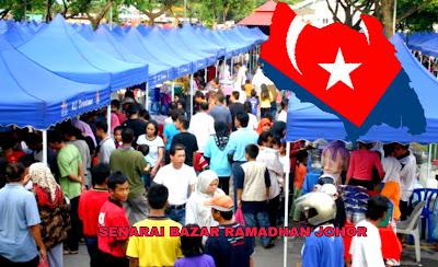 Senarai Bazar Ramadhan Johor 2019 (Lokasi)