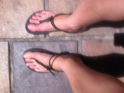 sandales minimalistes semelle vibram