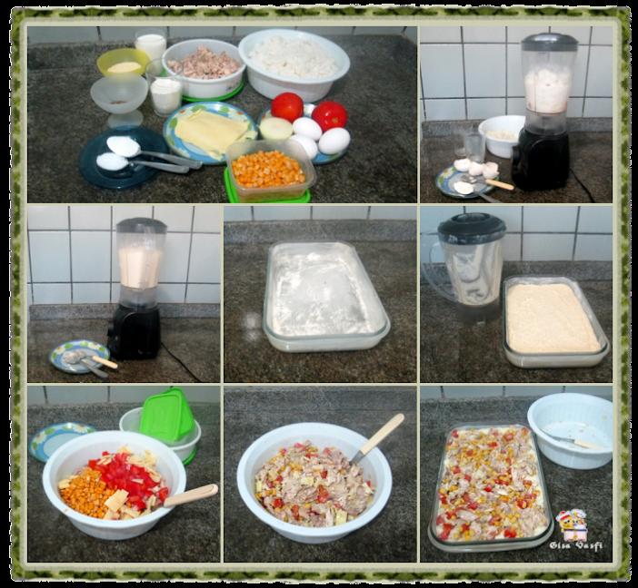 Torta de arroz e frango 3