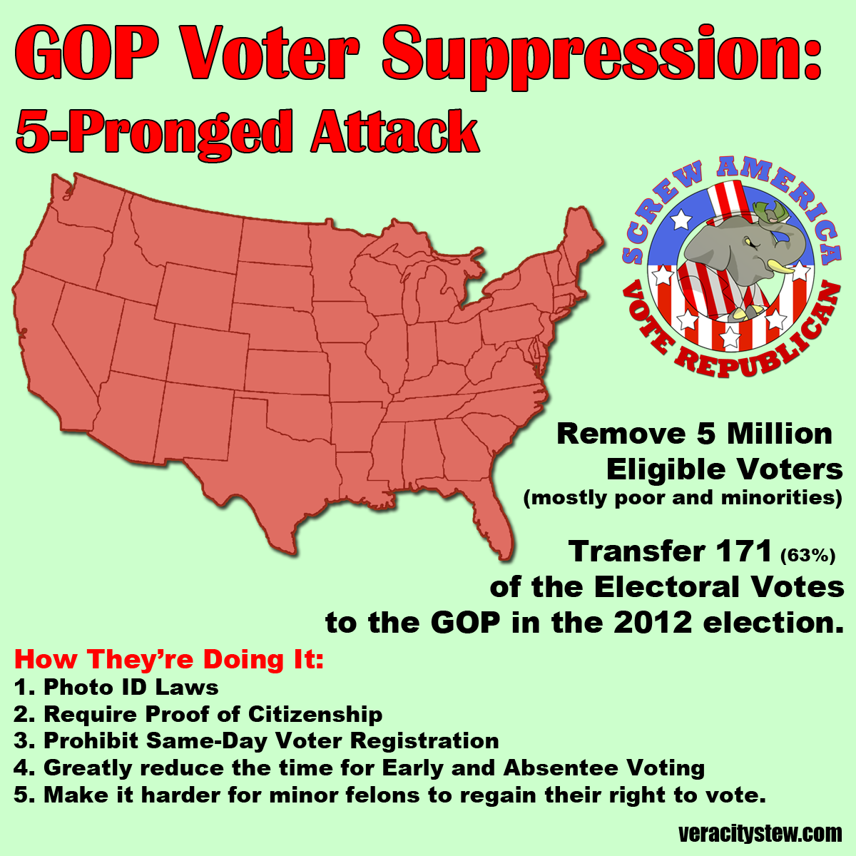 Voice Reporter: SLEAZY VOTER SUPPRESSION TACTICS REPORTED ...
