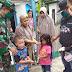 Relawan Covid-19 Desa Lamantu Berikan Vitamin Untuk Warga
