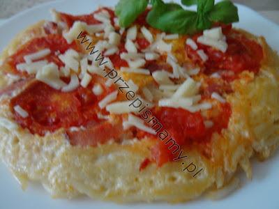Pizza z makaronu