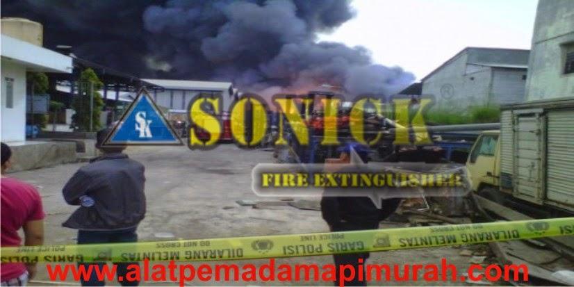 Kebakaran Terjadi Di Produsen Minyak Goreng
