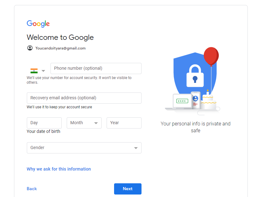 Gmail-Account-And-Email-ID-Created