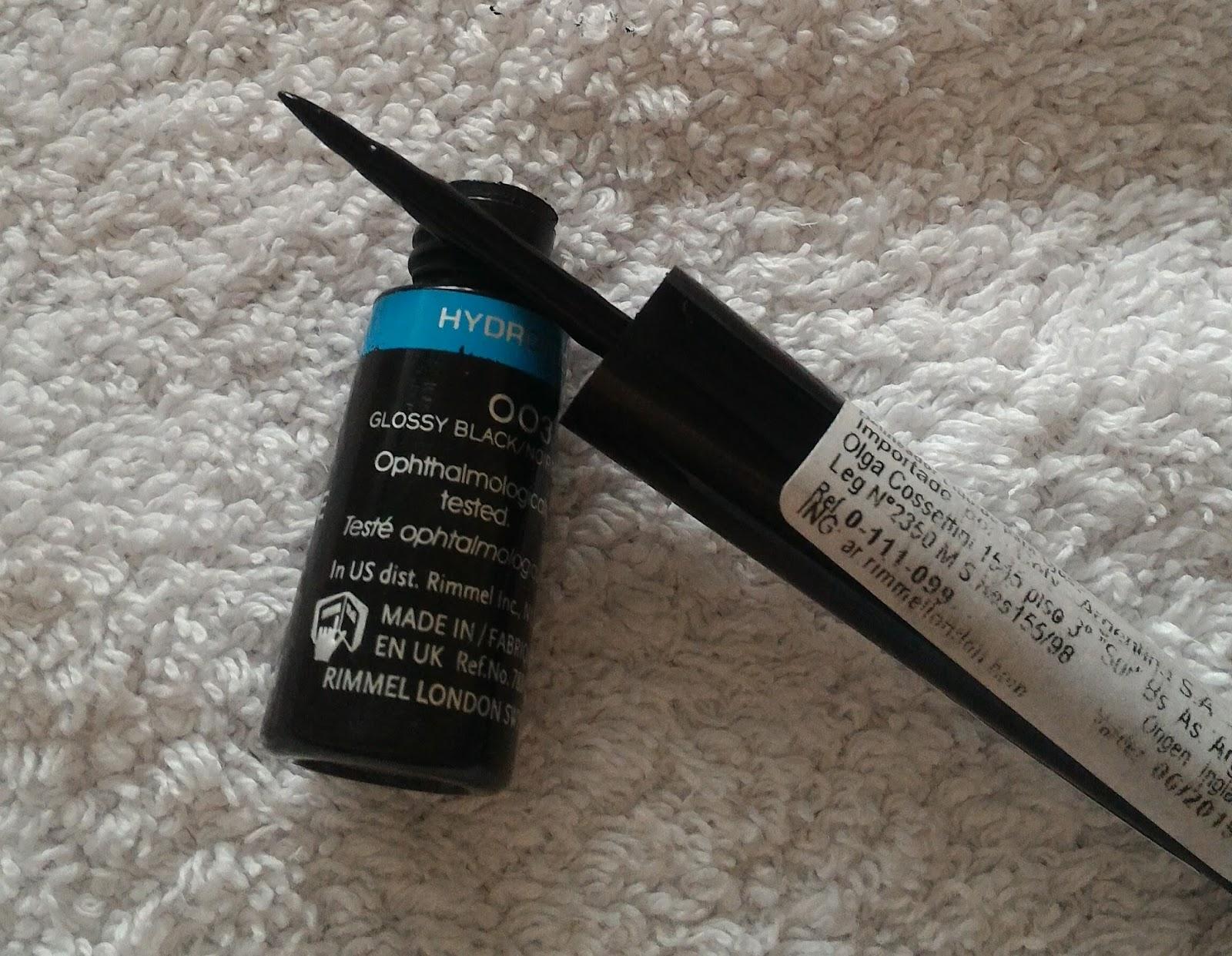 97fbbda603a dbm paranoid  Rimmel London - Exaggerate liquid eyeliner. Review ...