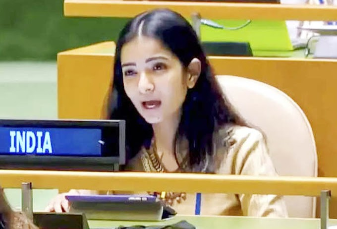 'आधी, POK खाली करा', आंतरराष्ट्रीय मंचावर भारताचं पाक पंतप्रधानांना खणखणीत प्रत्यूत्तर