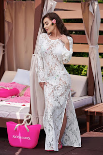Rochia StarShinerS Sensual Summer White 2