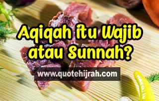 hukum aqiqah wajib atau sunnah, pendapat ulama tentang aqiqah, tata cara melaksanakan aqiqah, layanan aqiqah murah sesuai sunnah