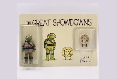 The Great Showdowns TMNT Donatello Resin Figure Set by Scott C