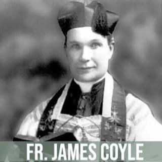 Vintage head and shoulders image of Fr. James Coyle