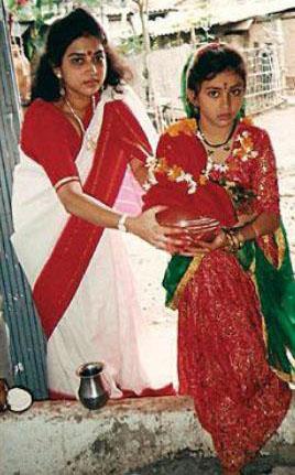 actress namitha childhood photos 2