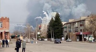 Причина взрывов на арсенале в Балаклее – подрыв