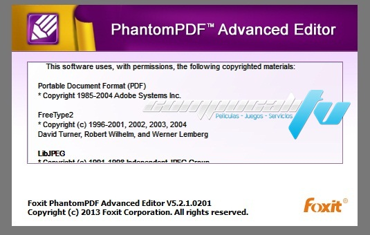 FoxitPhantom Business 6.0.5.0618 Final Español