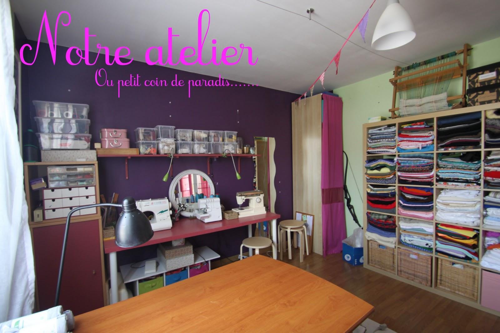 petites coutures pour petites mains notre atelier. Black Bedroom Furniture Sets. Home Design Ideas