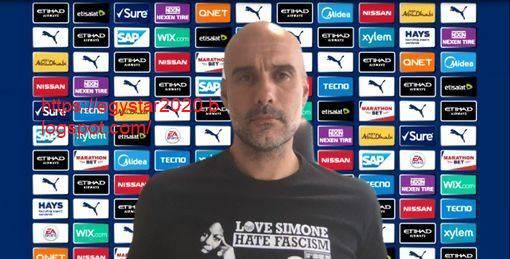 """مؤتمر السيد """"بيب جوارديولا"""" مدرب نادي مانشستر سيتي والذي يخص لقاء بورنموث في الجولة ال36 من البريميرليج"""