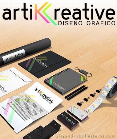 diseño branding Artik Creative Alejandro Ballesteros
