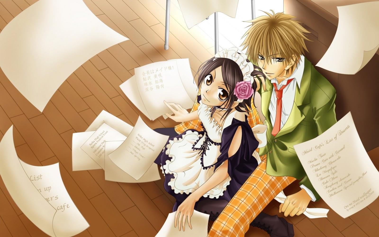 Resultado de imagen para kaichou wa maid sama anime