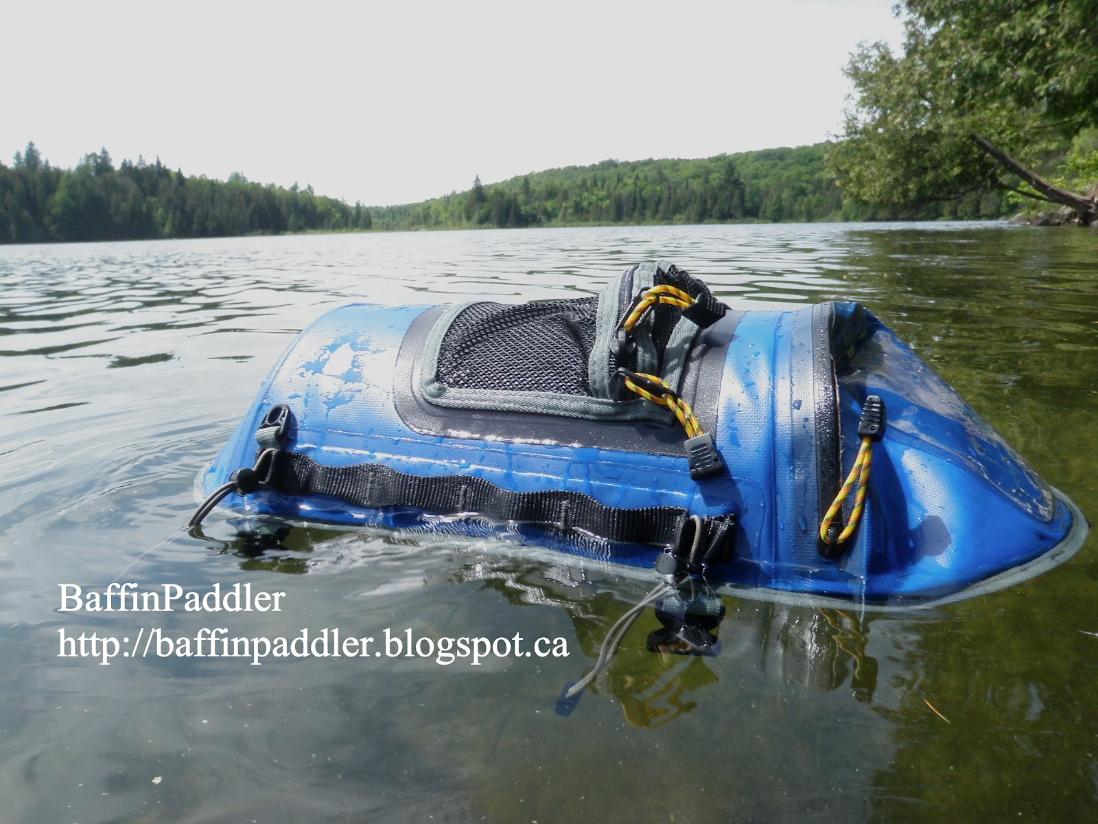 The Wildwasser Kayak Deck Bag Takes Plunge Is It Waterproof Pass Or Fail