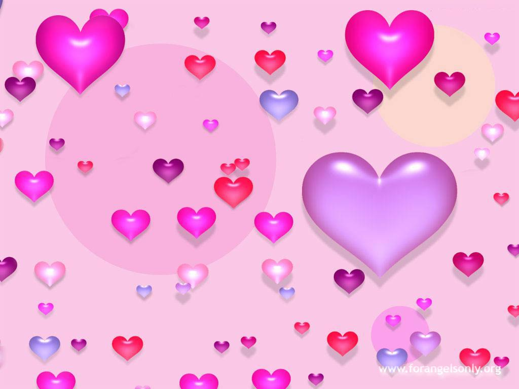 Love heart wallpaper for mobile