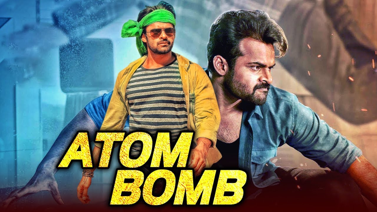 Atom Bomb (Thikka) 2019 ORG Hindi Dubbed 400MB HDRip 480p Free Download