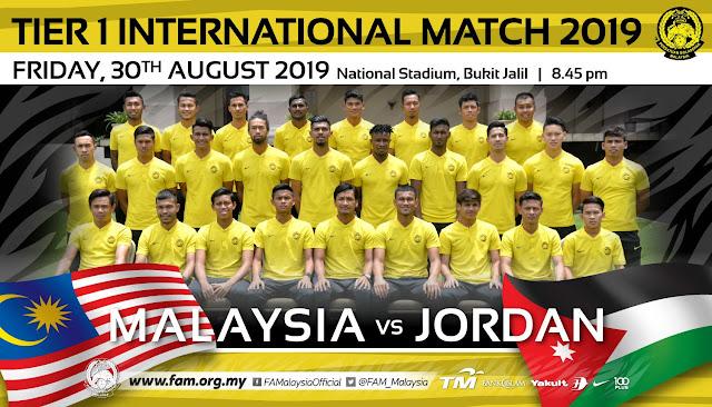 MALAYSIA lwn JORDAN