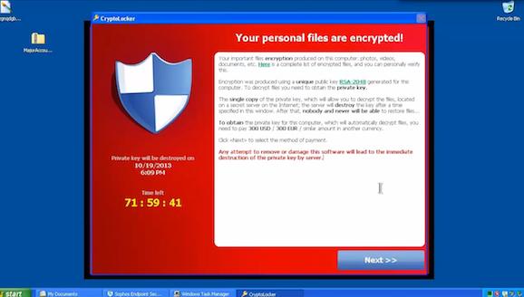 فيروس-CryptoLocker