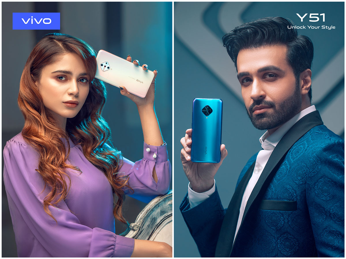 Aima Baig & Azfar Rehman Join vivo as Brand Ambassadors for the Y51 Smartphone