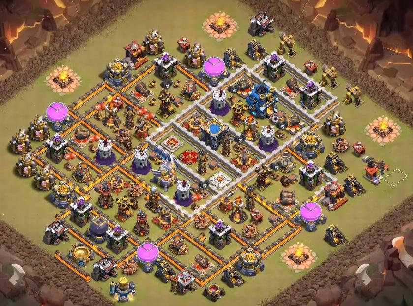 level 11 war layout