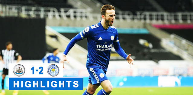 Newcastle United vs Leicester City – Highlights