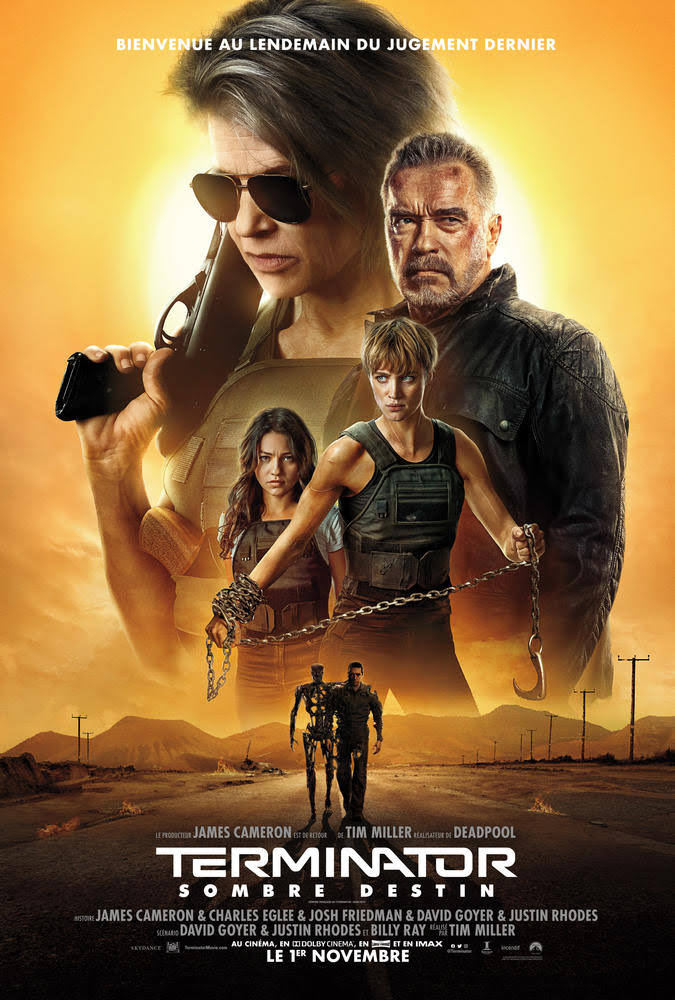 Terminator Dark Fate 2019 480p 400MB BRRip