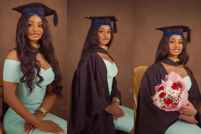 Iyabo Ojo's daughter, Priscilla becomes a graduate (photos)