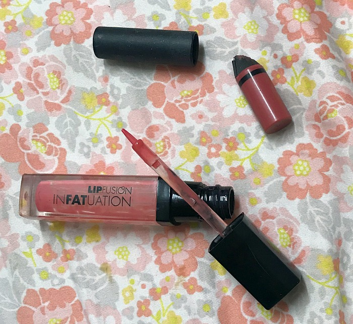 Fusion Beauty LipFusion infatuation in full frontal, nars satin lip pencil in rikugien reviews, empties