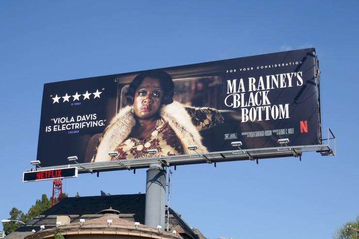 Viola Davis Ma Raineys Black Bottom FYC billboard