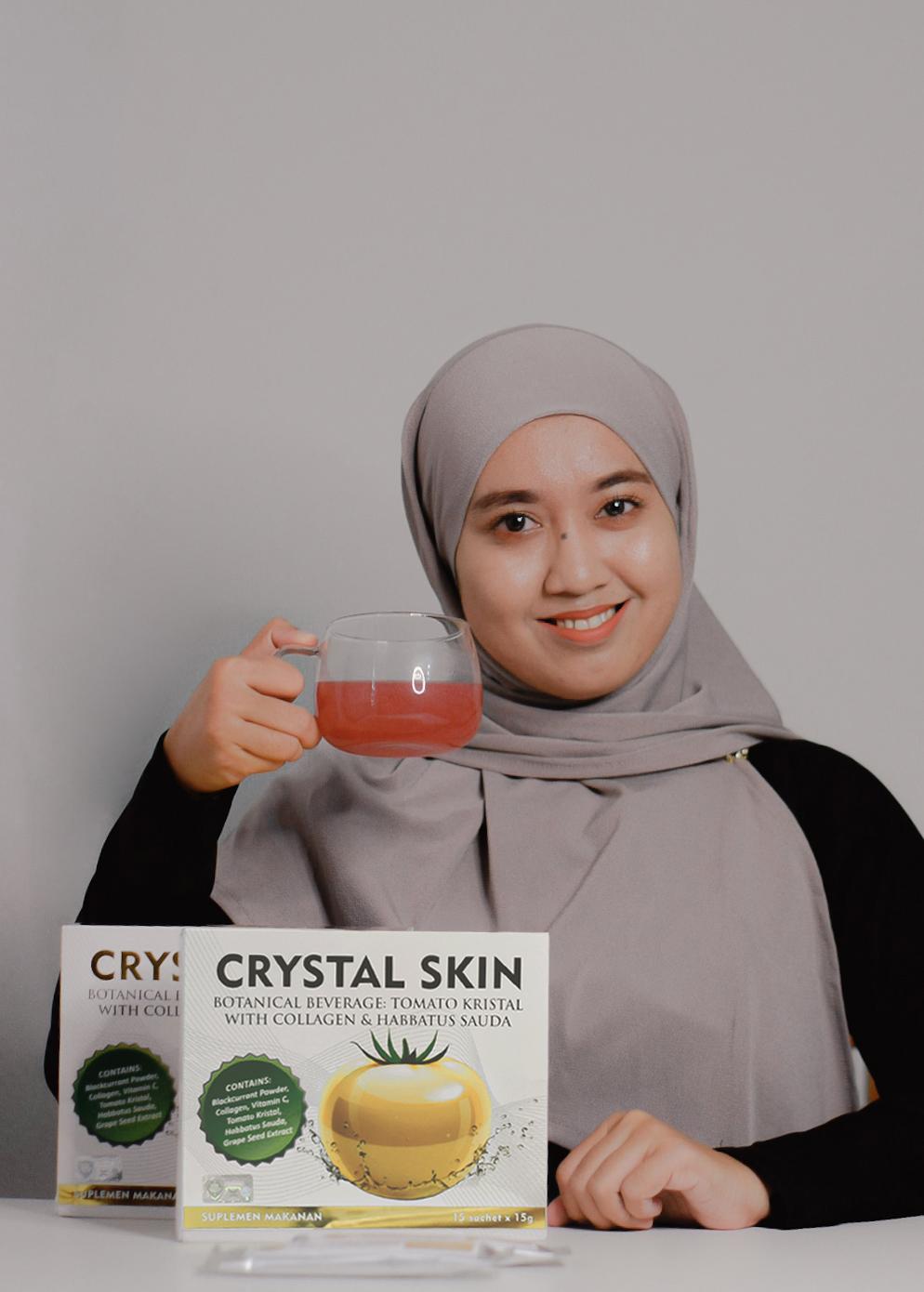 Crystal Skin RishBeauty : Tomato Kristal dengan Collagen, Habbatus Sauda